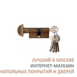 Цилиндр латунный Melodia 60/30-30WC Античная бронза