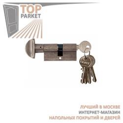Цилиндр латунный Melodia 60/30-30WC Античное серебро