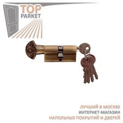 Цилиндр латунный Melodia 60/30-30WC Decor Матовая бронза