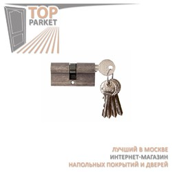 Цилиндр латунный Melodia 60/30-30 Античное серебро