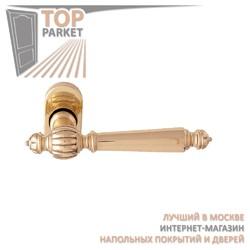 Ручка дверная на розетке Mirella 235F Матовая бронза