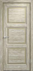 Дверь Мадера  Винтаж 17  Браш Мох белая патина