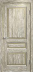 Межкомнатная дверь Мадера  Винтаж 5  Браш Мох белая патина
