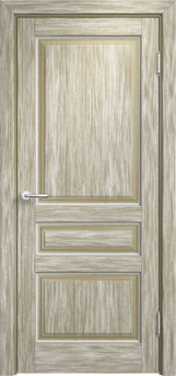 Дверь Мадера  Винтаж 5  Браш Мох белая патина