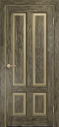 Дверь Мадера  Винтаж 15 Браш Мох чёрная патина