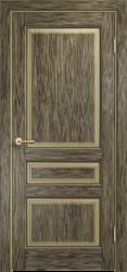 Дверь Мадера  Винтаж 5 Браш Мох чёрная патина