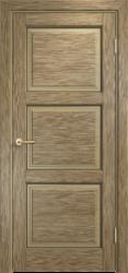 Межкомнатная дверь Мадера  Винтаж 17  Браш Мох патина орех