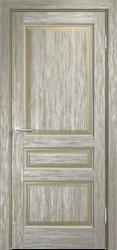 Дверь Мадера  Винтаж 5 Браш Мох патина серебро