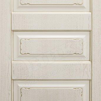 Дверь Версаль фрезерованное эмаль белая