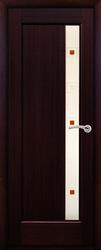 Дверь остекленная Октава ДО Венге