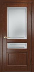 Межкомнатная дверь  Мадера ДО Mix Ольха-85 бренди