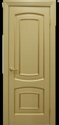 Межкомнатная дверь Альверо Елена, Олива с Золотом