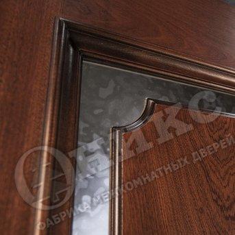 Дверь Оникс красное дерево патина