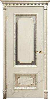 Дверь Оникс С декором Патина золото