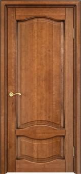 Дверь ОЛ 33 Орех 10%  патина
