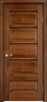 Дверь ОЛ 44 Орех 10% патина