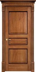 Дверь Д 5 Орех 10% патина