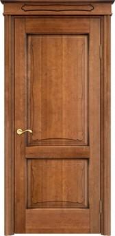 Дверь ОЛ 6.2 Орех 10%  патина