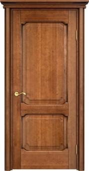Дверь ОЛ 7.2 Орех 10%  патина