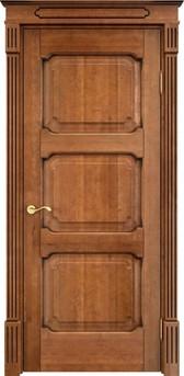 Дверь ОЛ 7.3 Орех 10%  патина