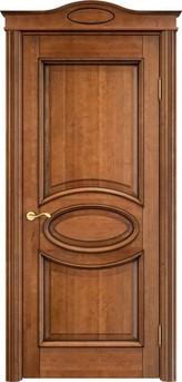 Дверь ОЛ 26 Орех 10%  патина
