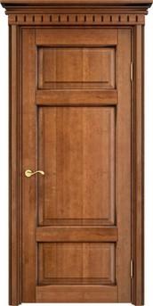 Дверь ОЛ 55 Орех 10%  патина