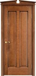Дверь ОЛ 102 Орех 10%  патина