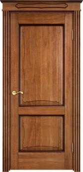 Дверь Д 6/2 Орех 10% патина