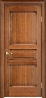 Дверь ОЛ 5 Орех 10%  патина