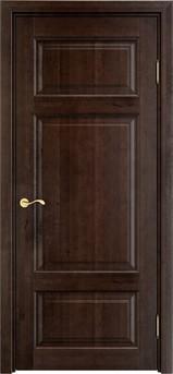 Дверь Ольха 55 Темный орех 15%