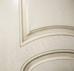 Дверь Эллипс фрезерованное патина золото