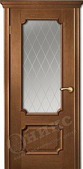 Дверь остекленная Палермо Орех