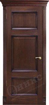 Дверь Прованс Красное дерево черная патина