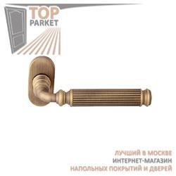 Ручка дверная на розетке Ranja 290F Матовая бронза