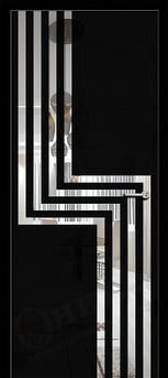 Дверь Арт стекло Lacobel рисунок 1