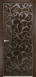 Дверь Арт стекло Lacobel RAL 8028 рисунок 7