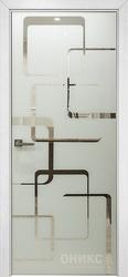 Дверь Арт стекло Lacobel RAL 0333 рисунок 8