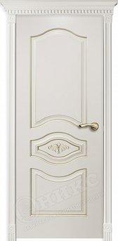Дверь Сицилия фрезерованное эмаль белая