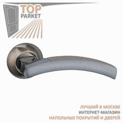 Ручка дверная на круглой накладке Solido A-37-10 Античная бронза