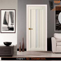 Межкомнатная дверь из массива бука Спарта 1