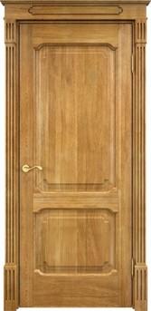 Дверь Д 7/2 Светлый орех 5%