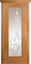 Дверь остекленная турин анегри стекло пескоструй