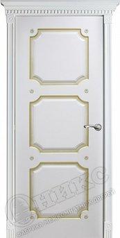 Дверь Валенсия фрезерованное эмаль белая