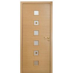 Межкомнатная дверь Оникс Вега со стеклом