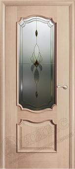 Дверь остекленная Венеция Дуб беленый