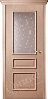 Дверь остекленная Версаль Дуб беленый